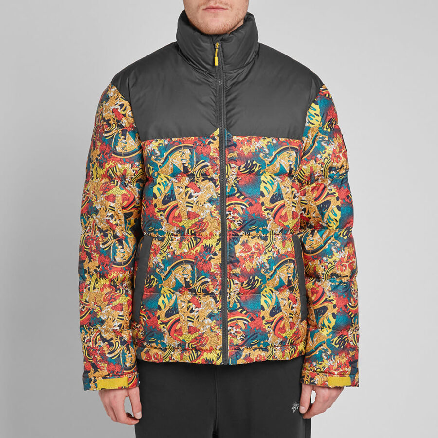 The North Face 1992 Nuptse Jacket 'Yellow Genesis'