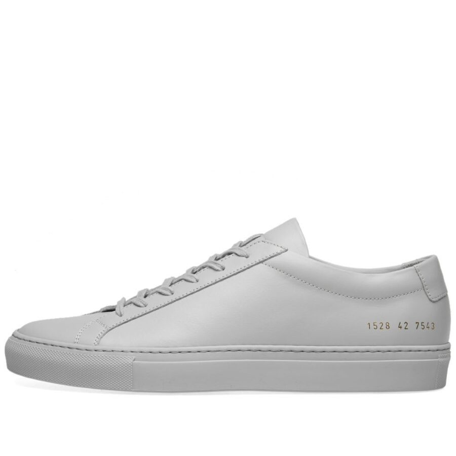 Common Projects Achilles Low Sneakers in Grey