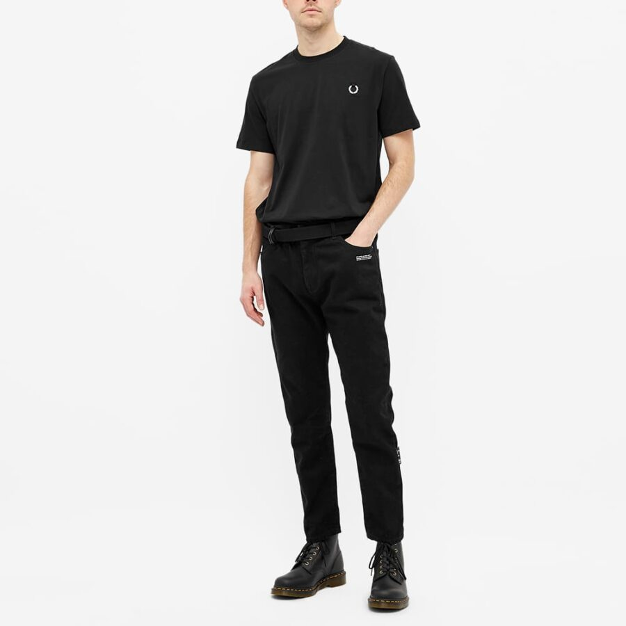Fred Perry x Raf Simons Metal Wreath T-Shirt 'Black'