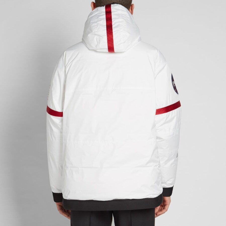 Polo 11 NASA Heated Pullover Astronaut Jacket in White