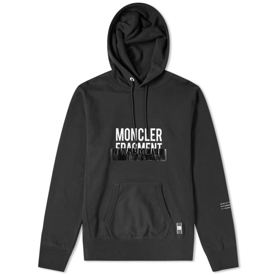 Moncler Genius 7 Fragment Tape Hoody 'Black'