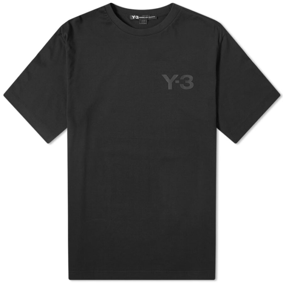 Y-3 Classic Chest Logo T-Shirt in Black
