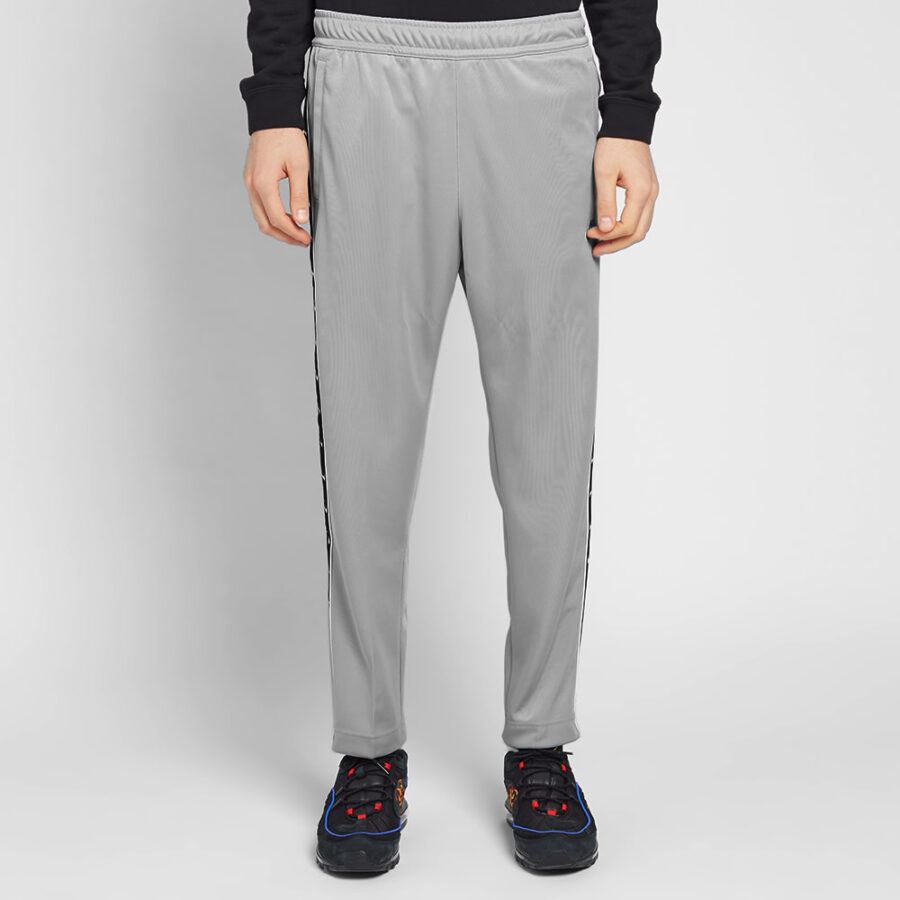 Nike Poly Trackpants in Grey, Black and White