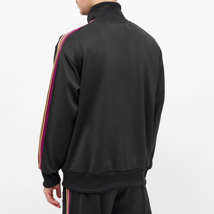 Axel Arigato Tori Patch Striped Track Jacket 'Black'