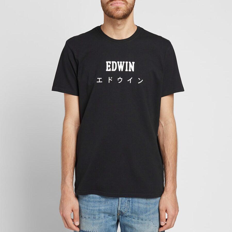 Edwin Japan T-Shirt in Black