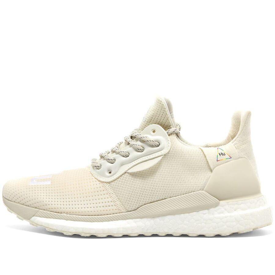 Adidas x Pharrell Williams Solar Hu Proud in Cream Off White