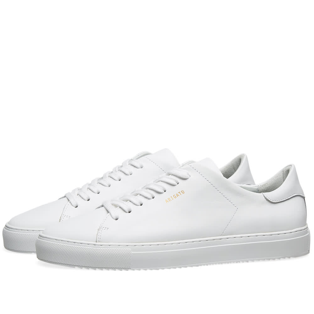 Clean 90 Leather Sneakers White Axel