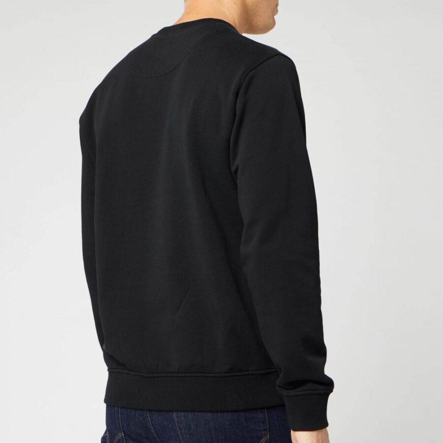 Kenzo Gradient Embroidered Tiger Crewneck Sweatshirt in Black