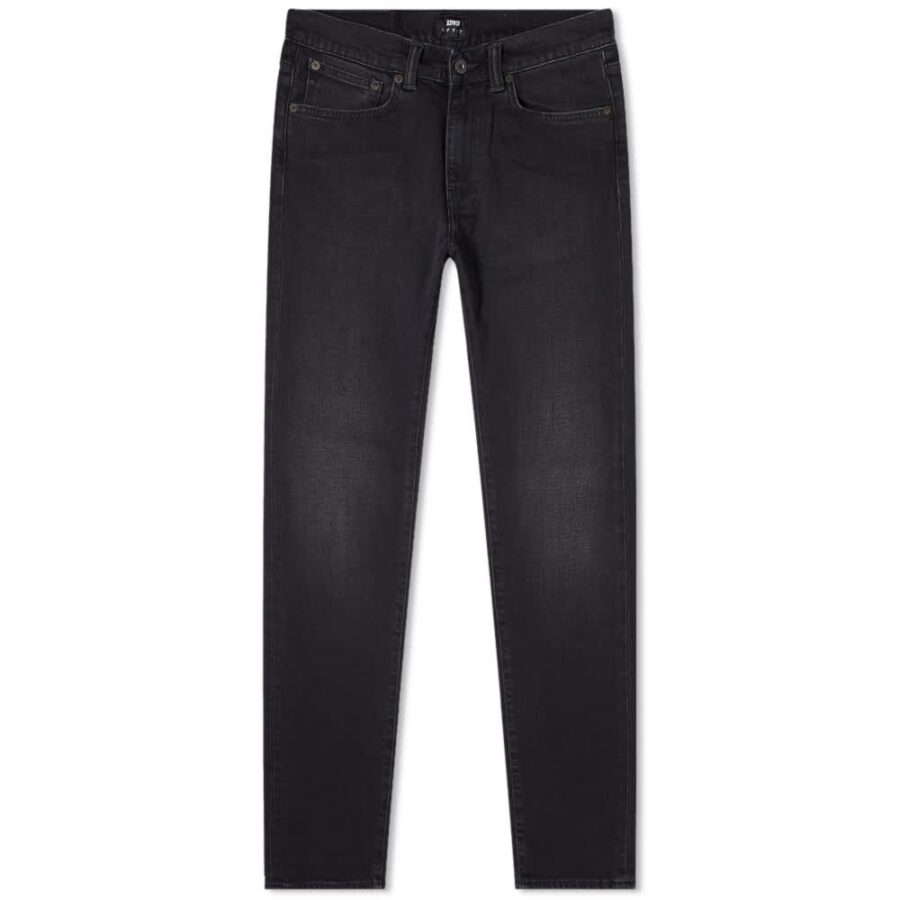 Edwin ED-80 Slim Tapered Jeans 'Black'
