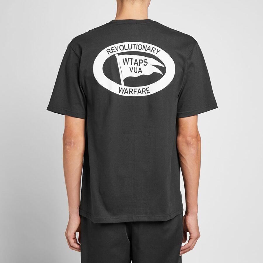 WTAPS Warfare T-Shirt in Black
