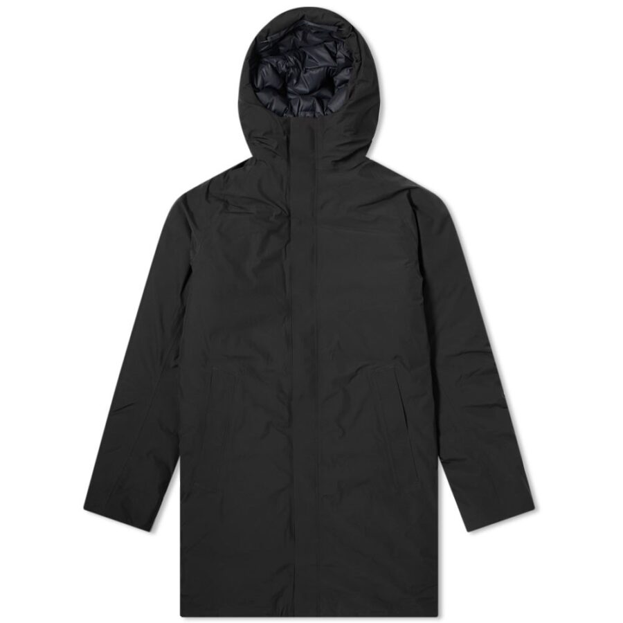 Norse Projects Rokkvi 5.0 Gore-Tex Parka Jacket in Black