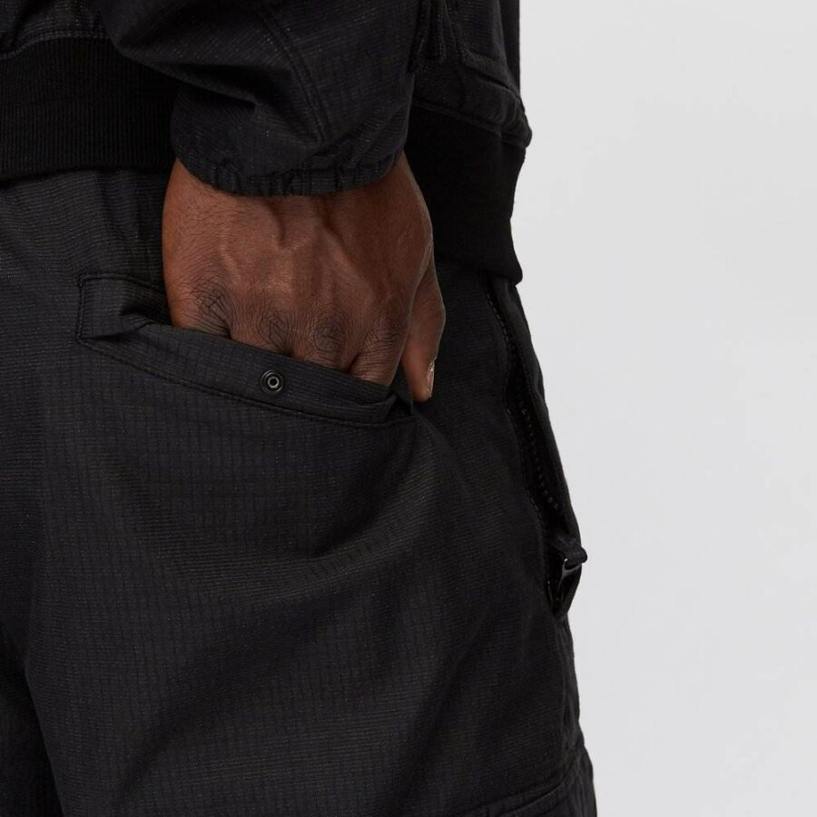 Stone Island Reflective Cargo Pants in Black