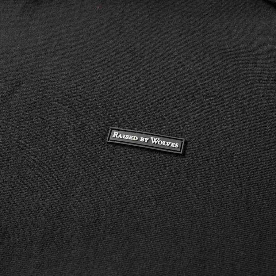 Raised by Wolves PVC Hoodie in Black