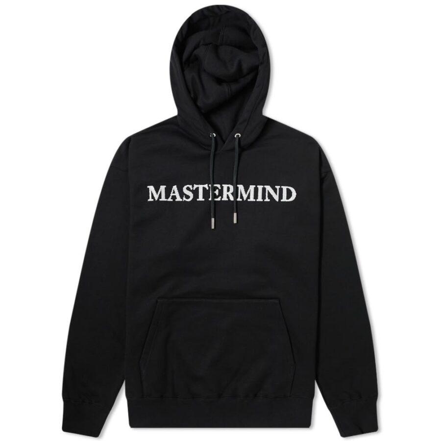 Mastermind Sequin Embellished Logo Hoody 'Black'