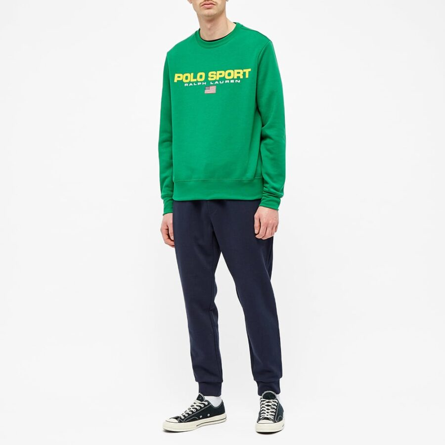 Polo Sport Crewneck Sweatshirt 'English Green'
