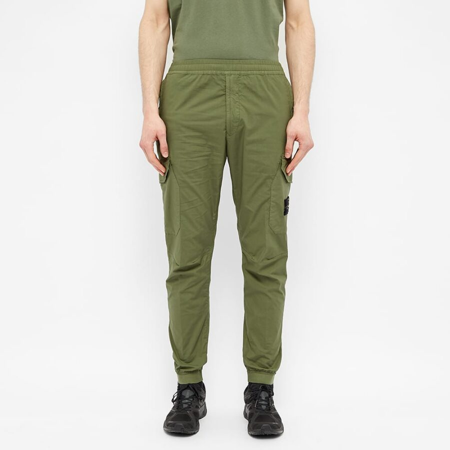 Stone Island Paracadute Cargo Pants 'Olive Green'
