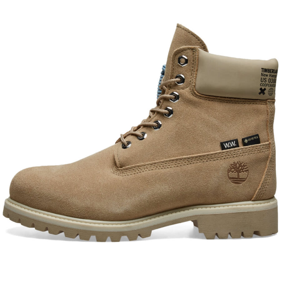 Timberland x Wood Wood Extreme Winter Boots 'Beige Suede'