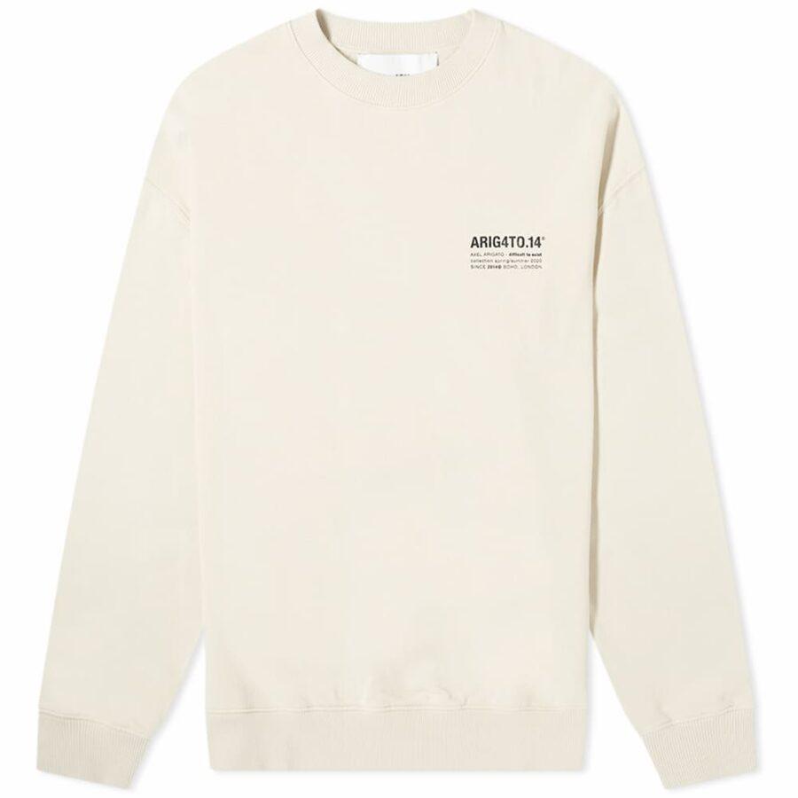 Axel Arigato DNA Sweatshirt 'Light Beige'