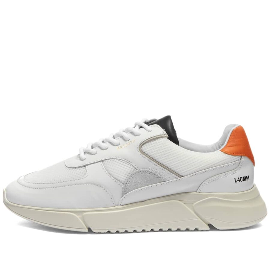 Axel Arigato Genesis Triple Sneaker 'White & Orange'