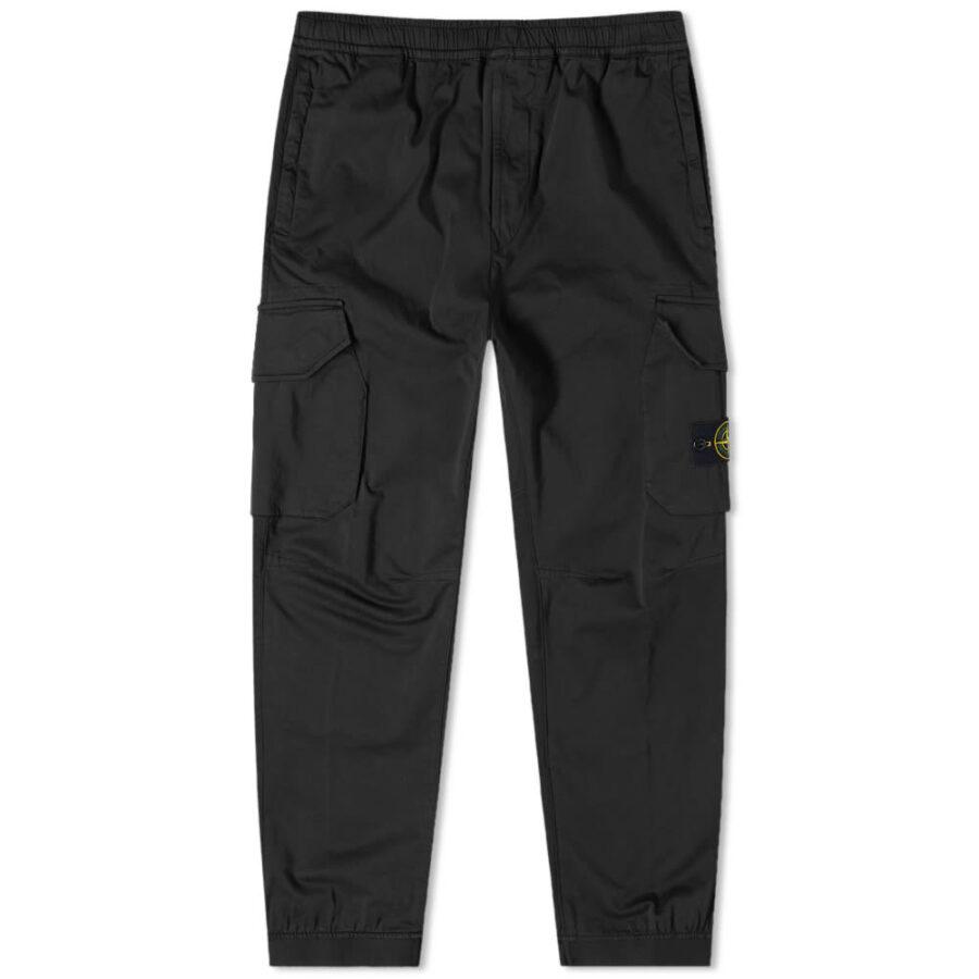 Stone Island Paracadute Cargo Pants 'Black'
