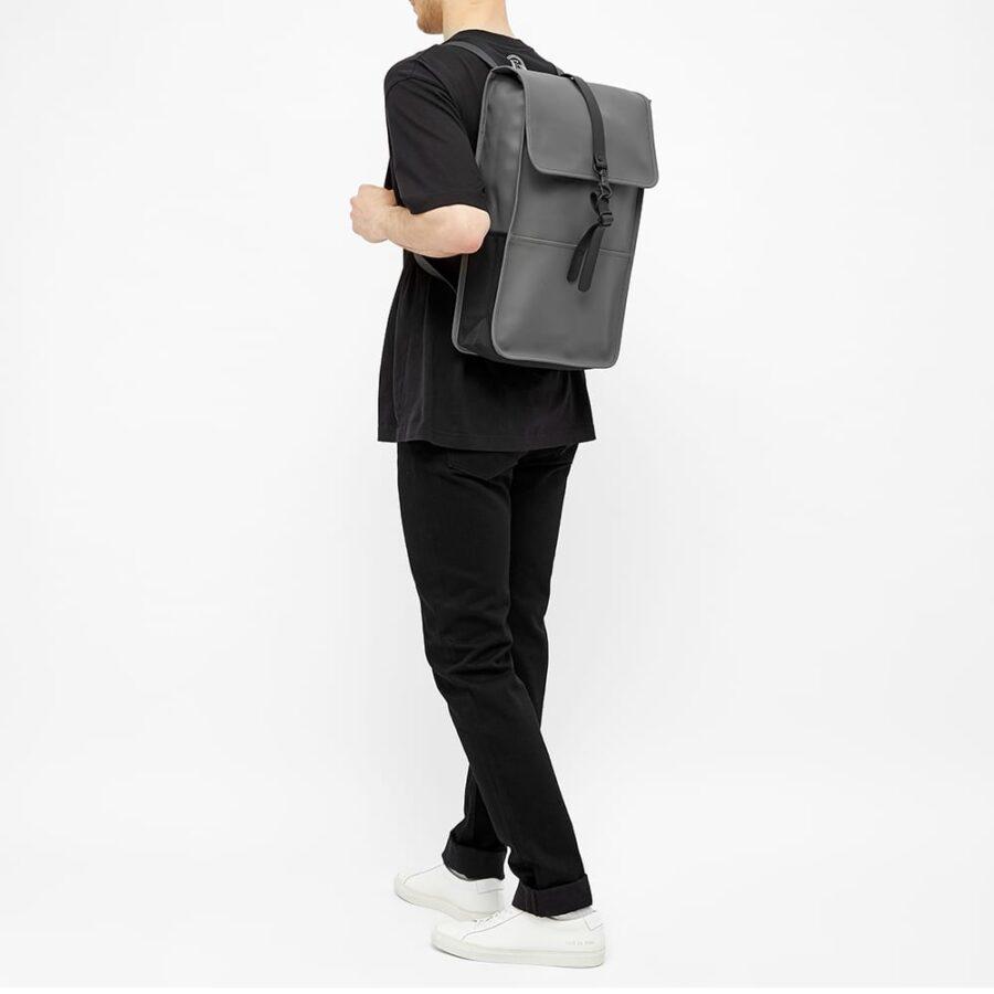 Rains Backpack 'Charcoal'