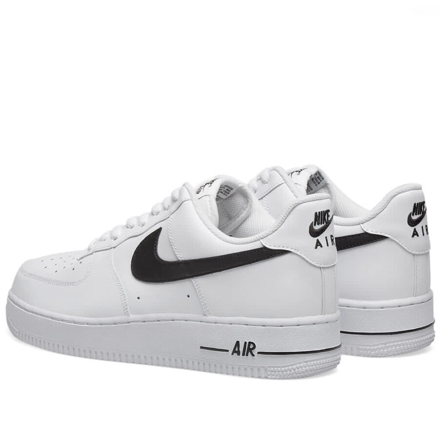 Nike Air Force 1 '07 'White & Black'