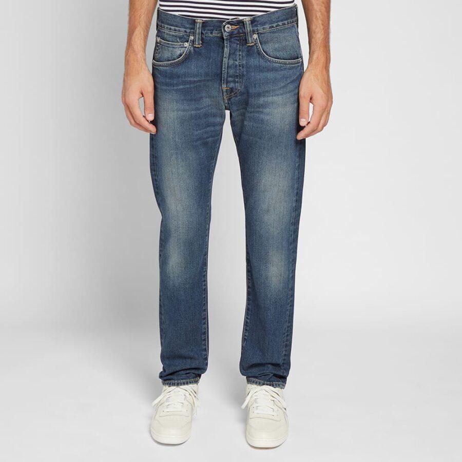 Edwin ED-55 Regular Tapered Jeans 'Worn Blue'