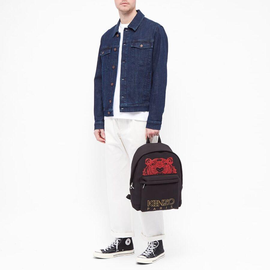 Kenzo Red Tiger Backpack 'Black'