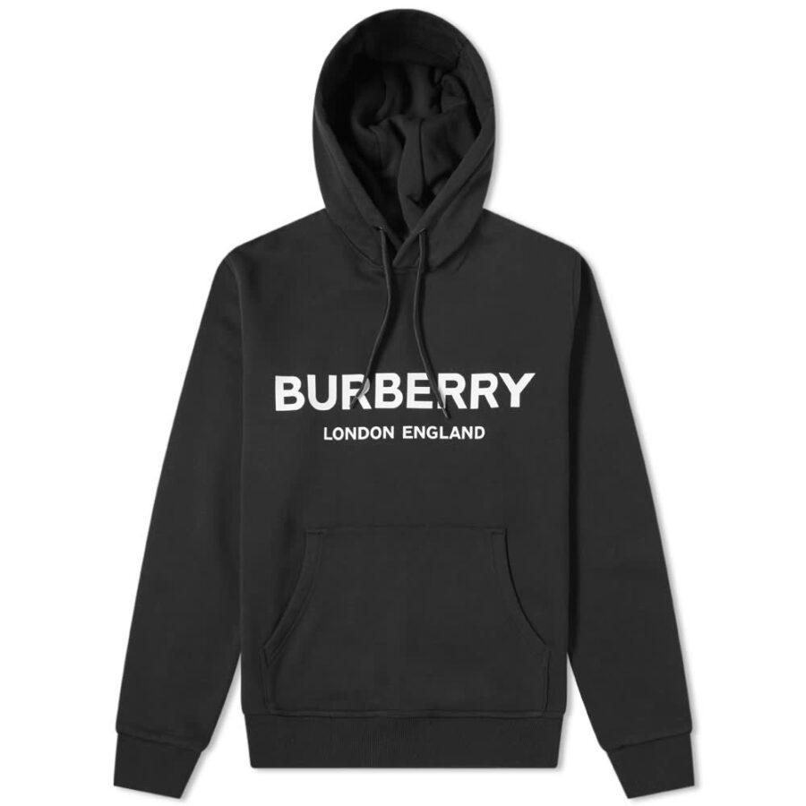 Burberry Lexstone Logo Hoody 'Black'