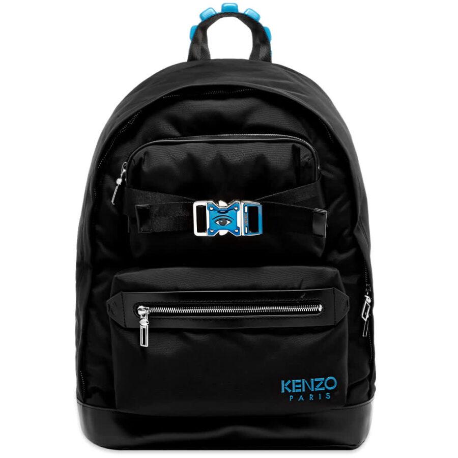 Kenzo Eye Buckle Backpack 'Black'