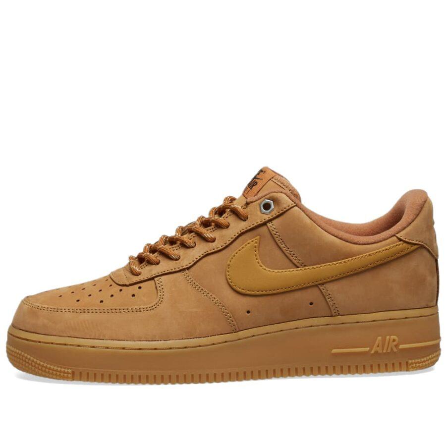 Nike Air Force 1 '07 WB 'Flax, Black & Gold'