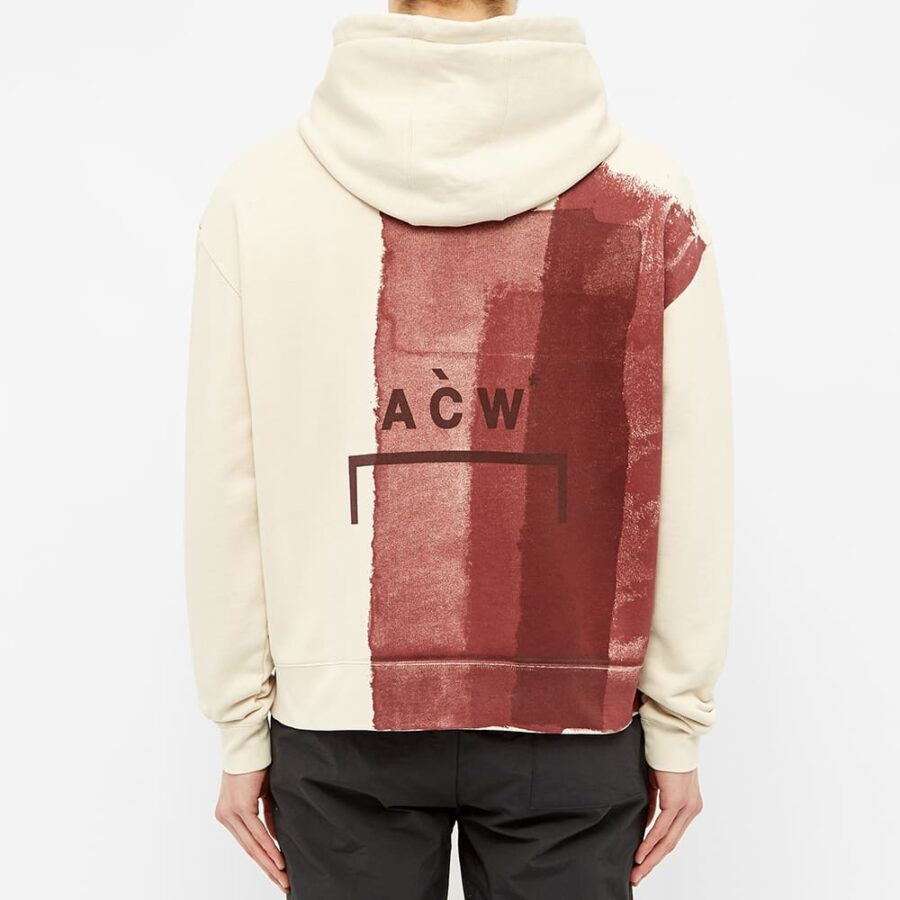 A-Cold-Wall* Block Paint Hoodie 'Almond Milk'