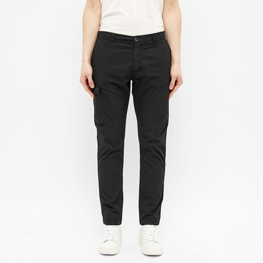 Paul Smith Ripstop Military Trousers 'Black'