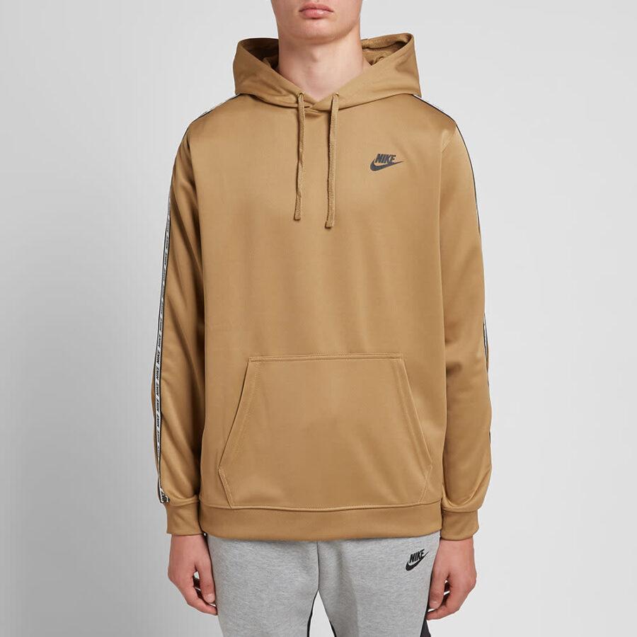 Nike Repeat Poly Pullover Hoody 'Beige'