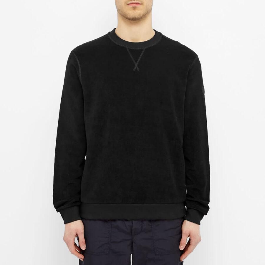 Moncler Logo Crewneck Sweatshirt 'Black'