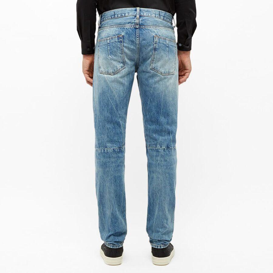 Unravel Project Vintage Skinny Jeans 'Blue'