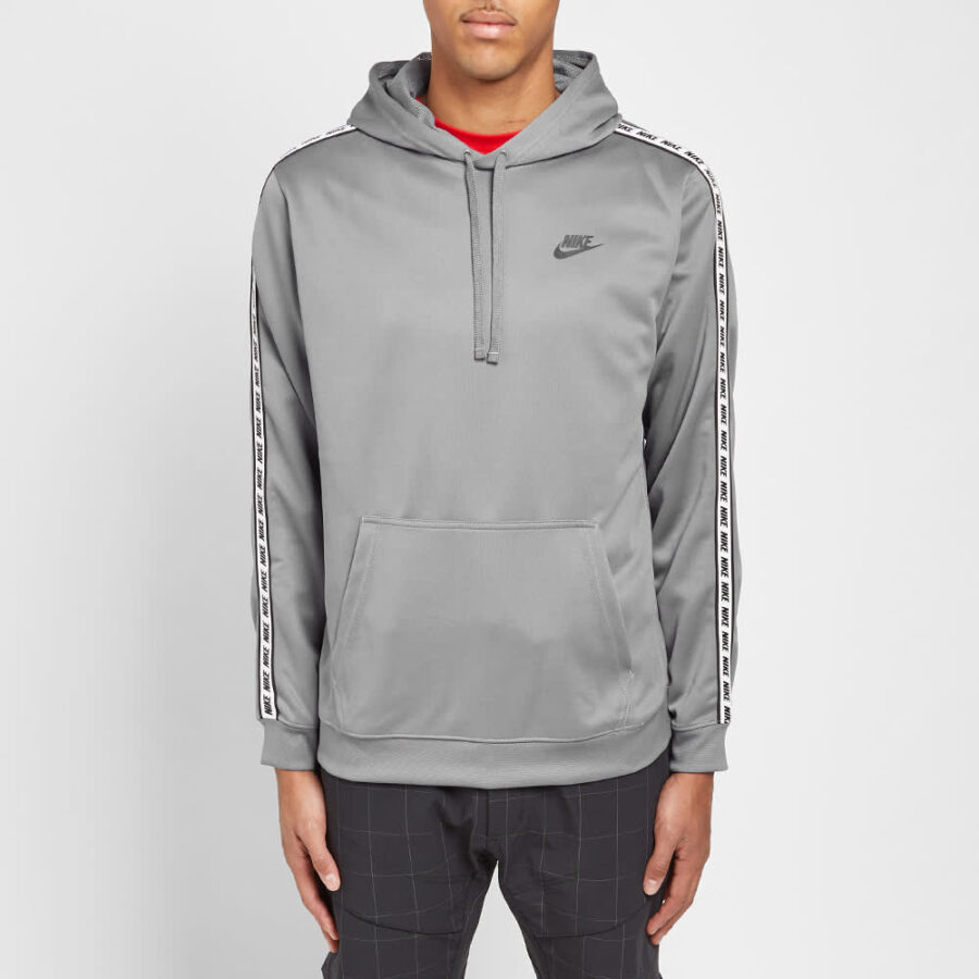 Nike Repeat Poly Pullover Hoody 'Grey'