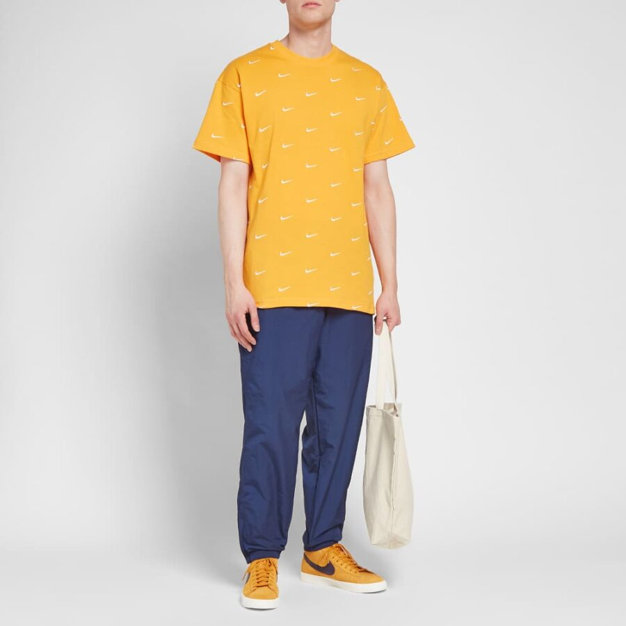 Nike NRG Embroidered Swoosh T-Shirt 'Orange'
