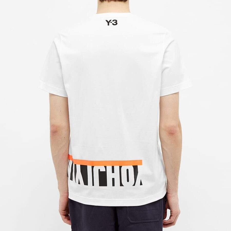 Y-3 Multi Block Graphic T-Shirt 'White'