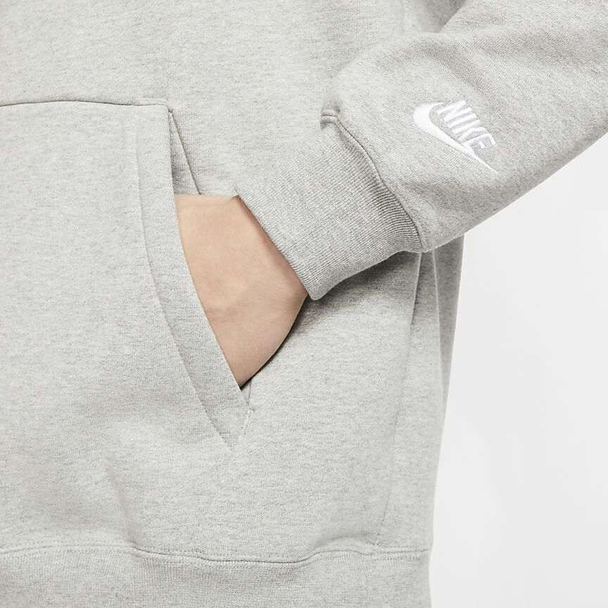 Nike Just Do It Heavyweight Hoodie 'Grey'