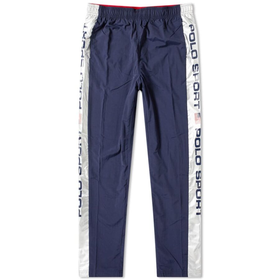 Polo Sport Silver Taped Pants 'Navy & Silver'