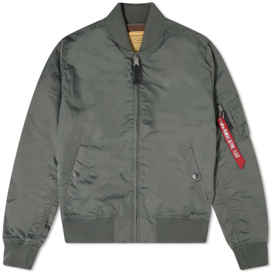 Alpha Industries MA-1 TT Jacket 'Vintage Green'