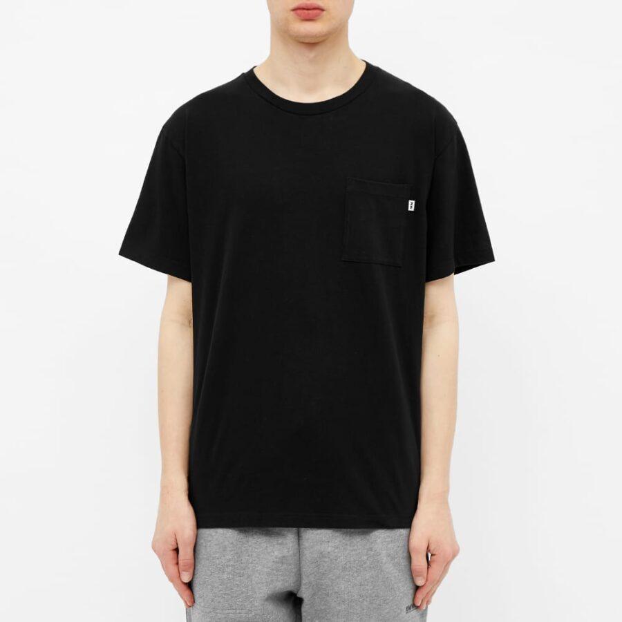 Wood Wood Bobo Pocket T-Shirt 'Black'