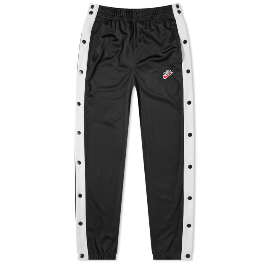 Nike Heritage Popper Trackpants 'Black & White'