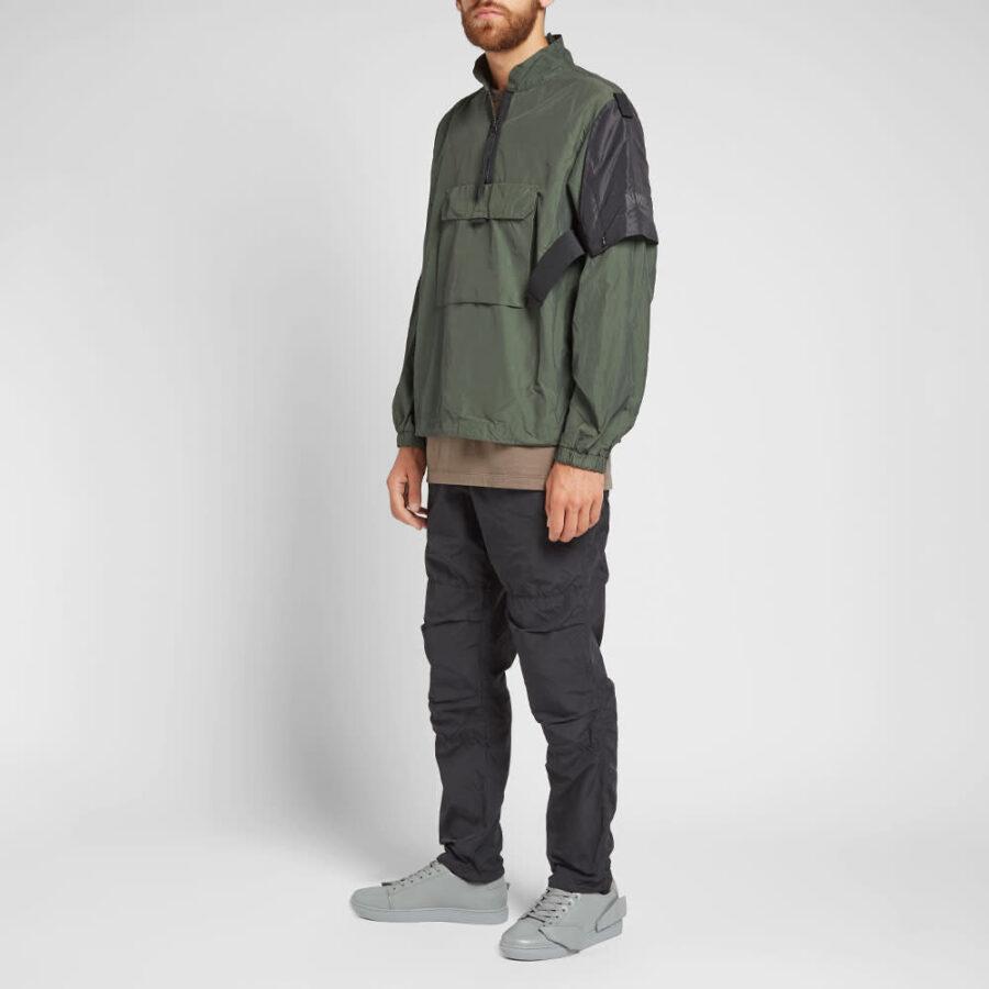 Nemen Duster Windbreaker Jacket 'Olive'