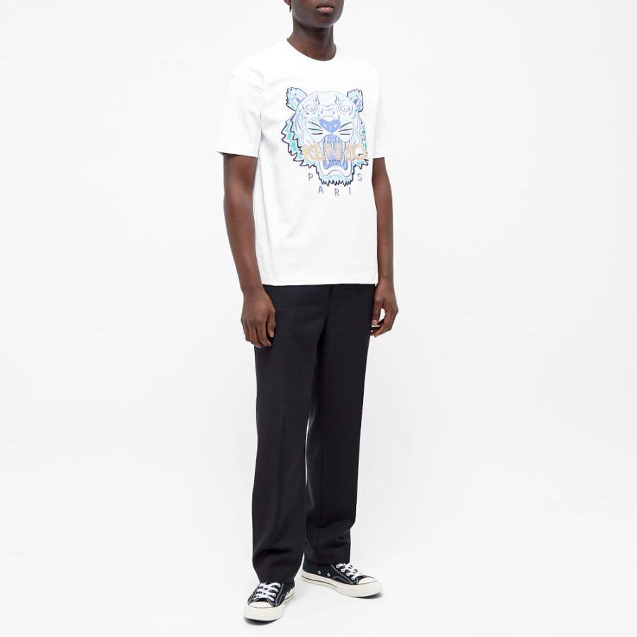 Kenzo Actua Tiger T-Shirt 'White'