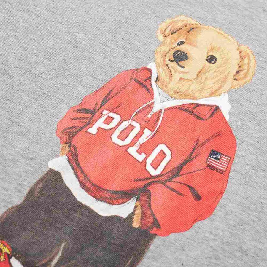 Polo Ralph Lauren Streetwear Bear T-Shirt 'Grey'
