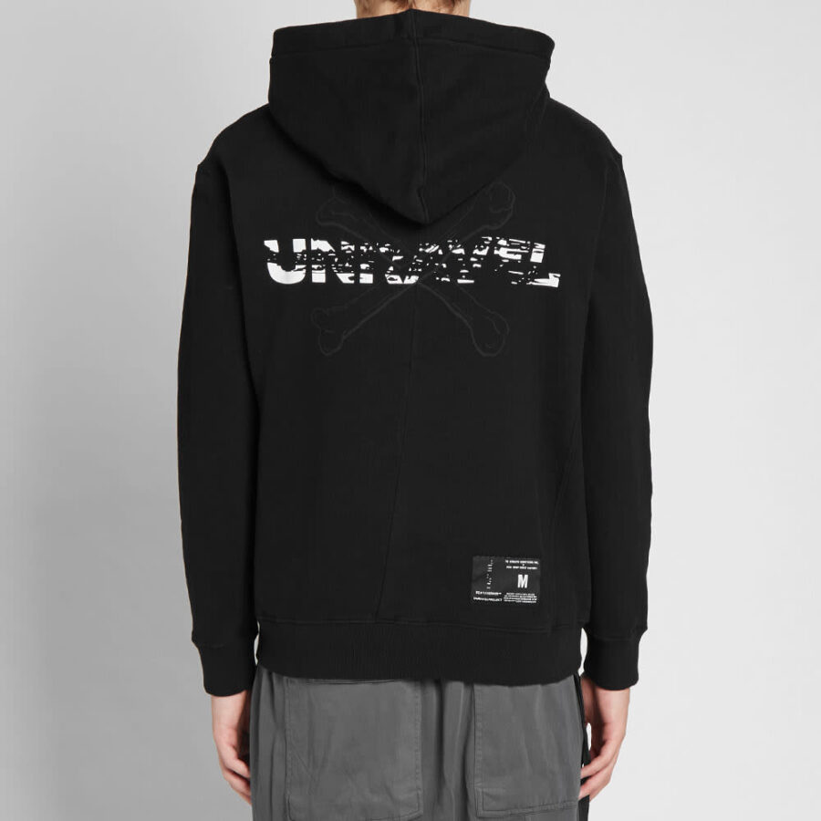 Unravel Project Bones Hoody 'Black'
