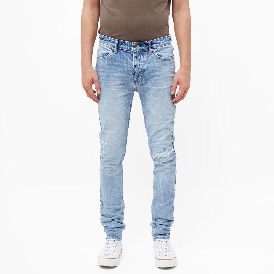 Ksubi Van Winkle Stitched Street Skinny Jeans 'Denim'