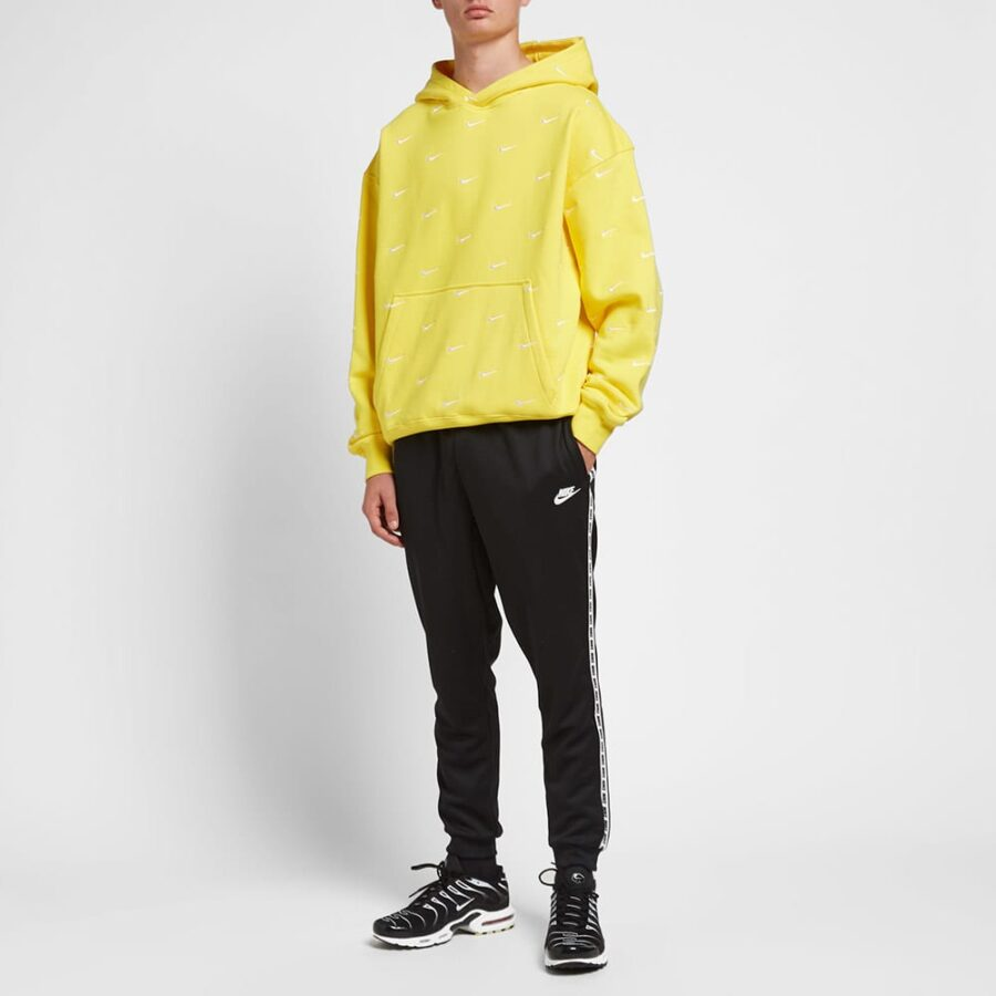 Nike NRG Embroidered Swoosh Hoody 'Yellow'
